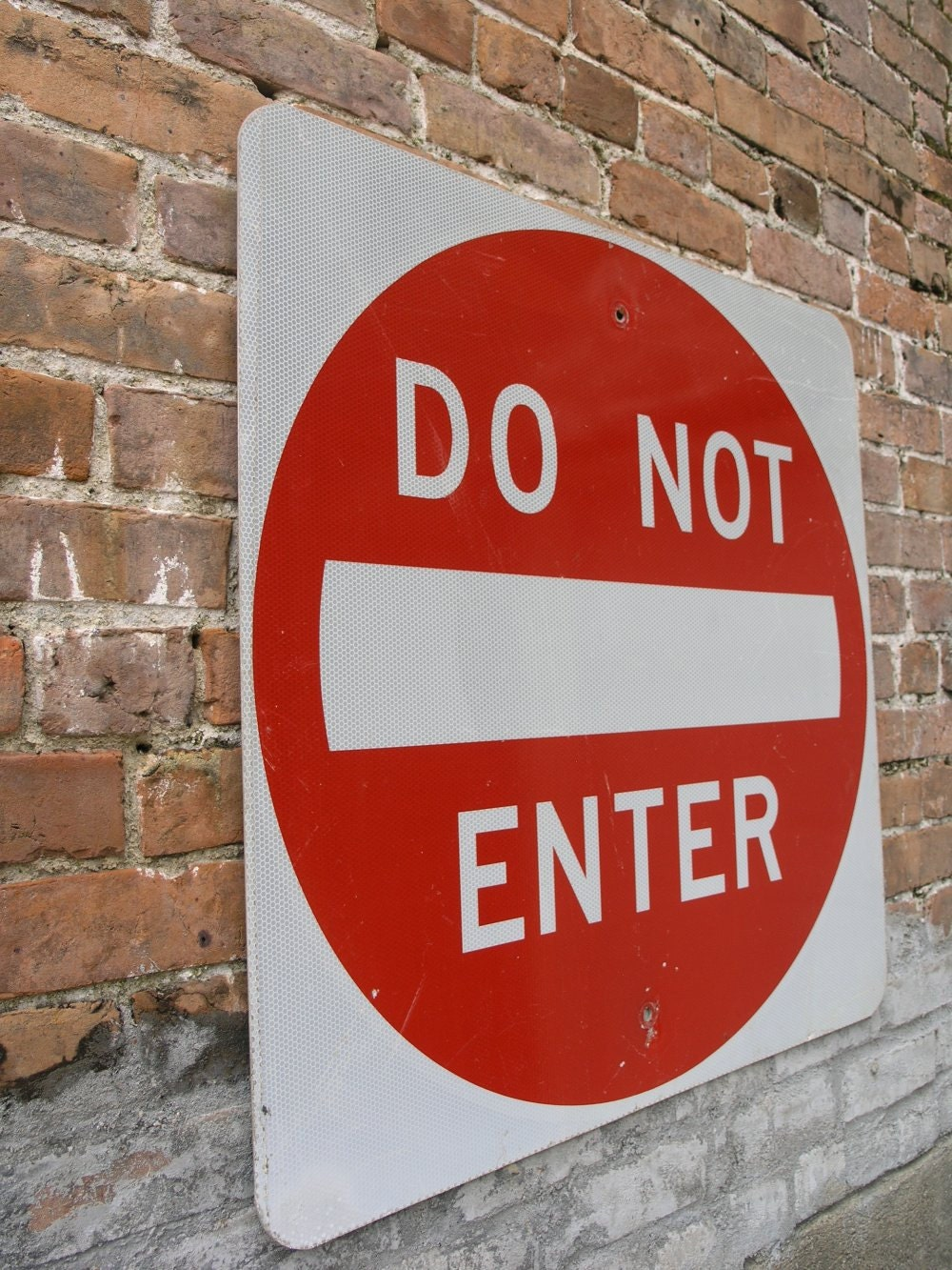 Do Not Enter Garage : Metal sign do not enter road garage mancave decor