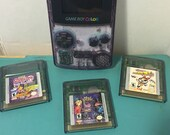 Atomic Purple Gameboy Color with 3 games