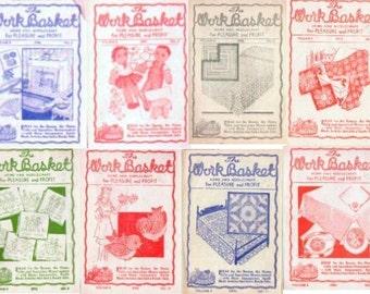 Aunt Martha's WorkBasket Volume 8 c1942-1943 magazine