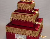 Indian Wedding Card Box-any colors
