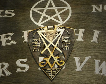 Lord Mocks Satan's Own Planchette (Spirit Pointer)