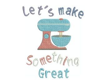 Let's make something great