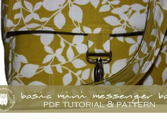 Mini Messenger Bag - PDF Tutorial