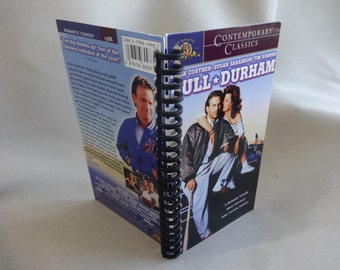 Bull Durham VHS Tape Box Notebook