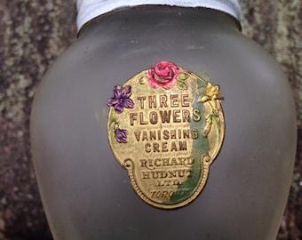 1930's Richard Hudnut -Three Flower Vanishing Cream