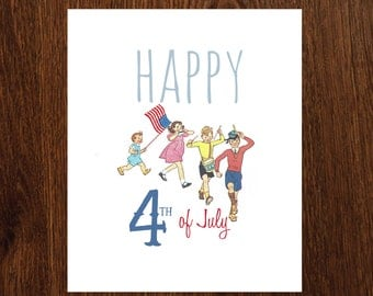 Happy 4th of July 8x10 printable