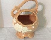 Vintage Weller Pottery Cameo Handled Planter