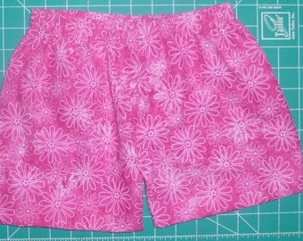 Pink Floral Shorts for Baby