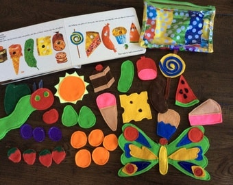 Hungry Caterpillar Felt Set (book not included)