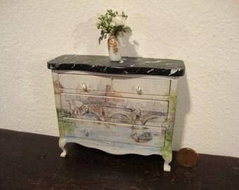 dollhouse miniature dresser