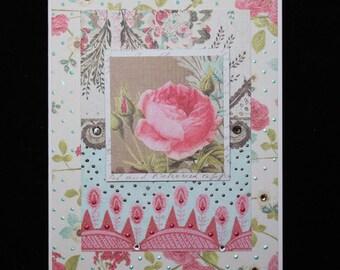 Abundant Blossoms -  A Single Rose
