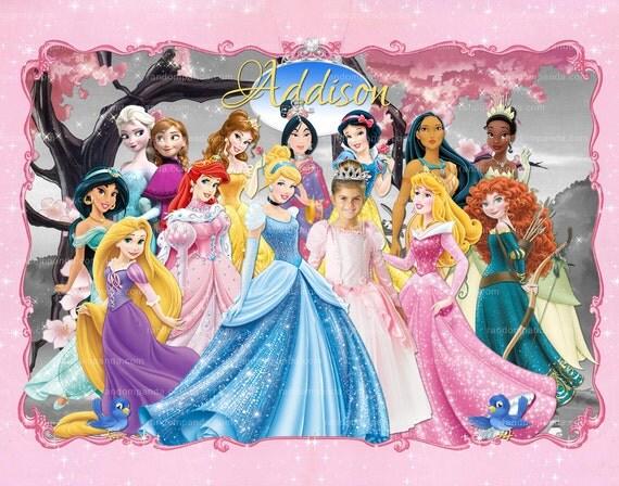 disney princess poster by - photo #31