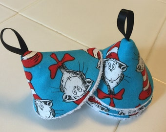 Tinkle Tents/ Peepee Tents/ Tinkle Toppers/ Baby Boy Caution Caps / Cat in the Hat