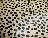 "Hair On Leather 12""x12"" BLONDE Wild Cheetah with Black Spotted Animal HOH Cowhide 3.5-4oz/1.2-1.6mm PeggySueAlso™ limited"