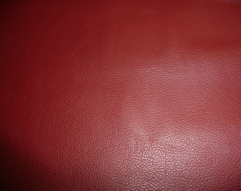 """Leathers 20""""x20"""" DIVINE Dark Red top grain Cowhide 2-2.5 oz /.8-1mm Avaialbe in hides PeggySueAlso™ E2885-28"""