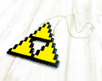Legend of Zelda TriForce necklace