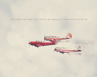 Red Airplanes, Red and White, Aviation Prints, Aviation Art Prints, Aviation Photography, Aviation Wall Art, Aviation Photos, Gift for Pilot