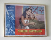 1958 Movie Printers Proof Poster for Suicide Battalion American International Pictures
