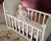 Vintage Baby Doll Crib ~ Large, Wood, Rustic and Totally Vintage