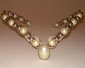 Bridal Circlet Pearl Wedding Hair Accessory