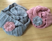 Mommy And Me Knit Infinity Scarf