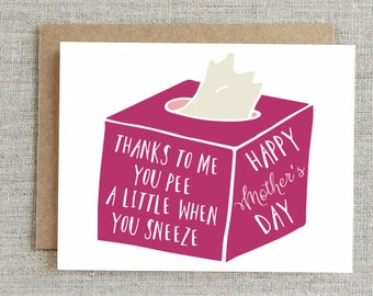 Funny Mothers Day Card, Happy Mothers Day Card, Card For Mom, Funny Card for Mom, Funny Mom Card, Mom Cards, Sarcastic Greeting Cards