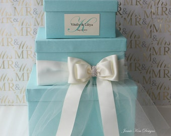 Tiffany blue cardbox Etsy