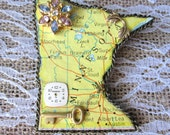 Magnificent Minnesota State Brooch
