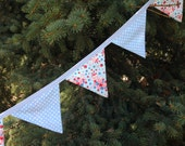 ON SaLE !!! Bubble Girl Bunting, Banner, 15 double sided Flags