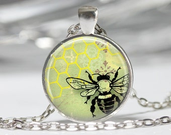 Bee Jewelry Bumble Bee Necklace