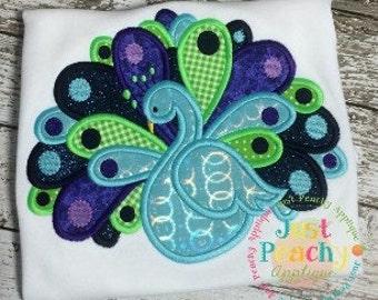 Anita Peacock Machine Embroidery Applique Designs