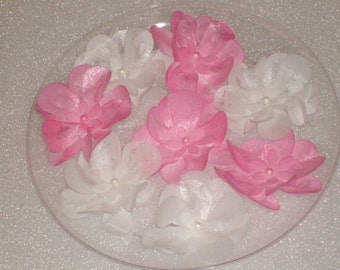 Edible Wafer Paper Flowers for Cakes, Cookies and Cupcakes