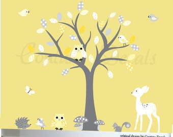 Baby Wall Decal, Wall Decals Nursery, Animal Wall Decals, Children Wall Decal, Nursery Wall Decal,