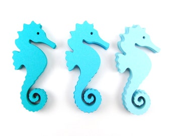 Seahorse Paper Cut Outs set of 25