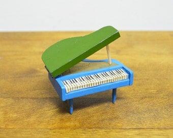 Vintage Miniature Grand Piano....Marked Japan