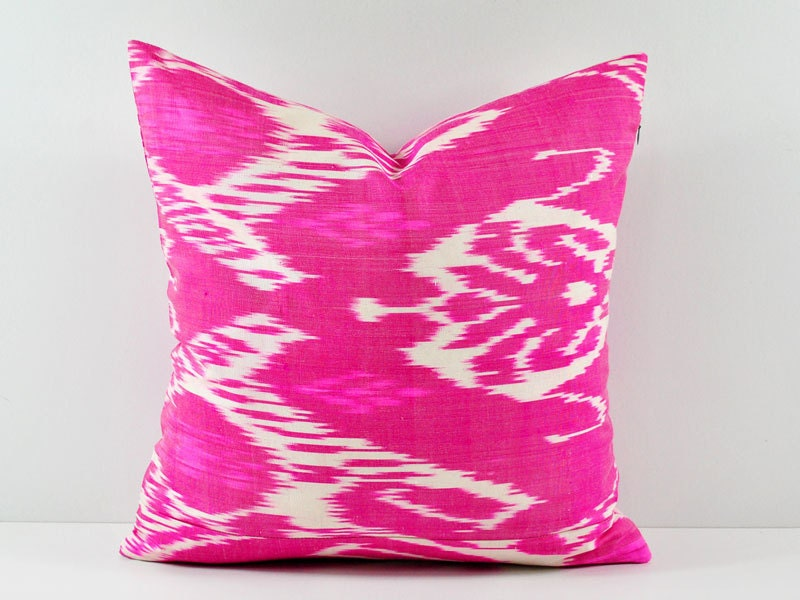 Handmade Ikat Throw Pillows : Ikat Pillow Handmade Ikat Pillow Cover Ikat throw pillows