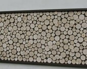 Rustic, Wood Slice, Sculpture,Wall Art, Abstract, Tree Branch, Rings, Log, or Queen Headboard - 24x62 Made To Order
