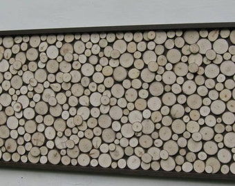 Rustic, Wood Slice, Sculpture,Wall Art, Abstract, Tree Branch, Rings, Log, or Queen Headboard -