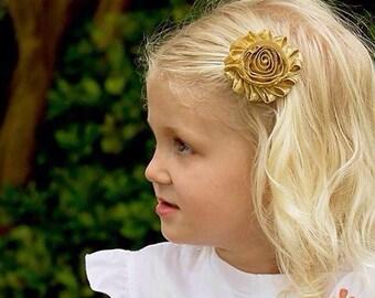 Gold Flower Girl, Gold Barrette. Gold Hair Clip. Gold Flower Girl. Gold Flower Girl. Silver Barrette. Silver Hair Clip. Silver Flower Girl.