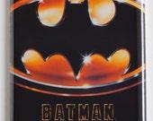 Batman (1989) Movie Poster Fridge Magnet (2 x 3 inches)