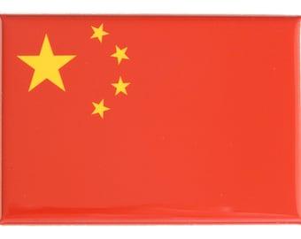 Flag of China Fridge Magnet
