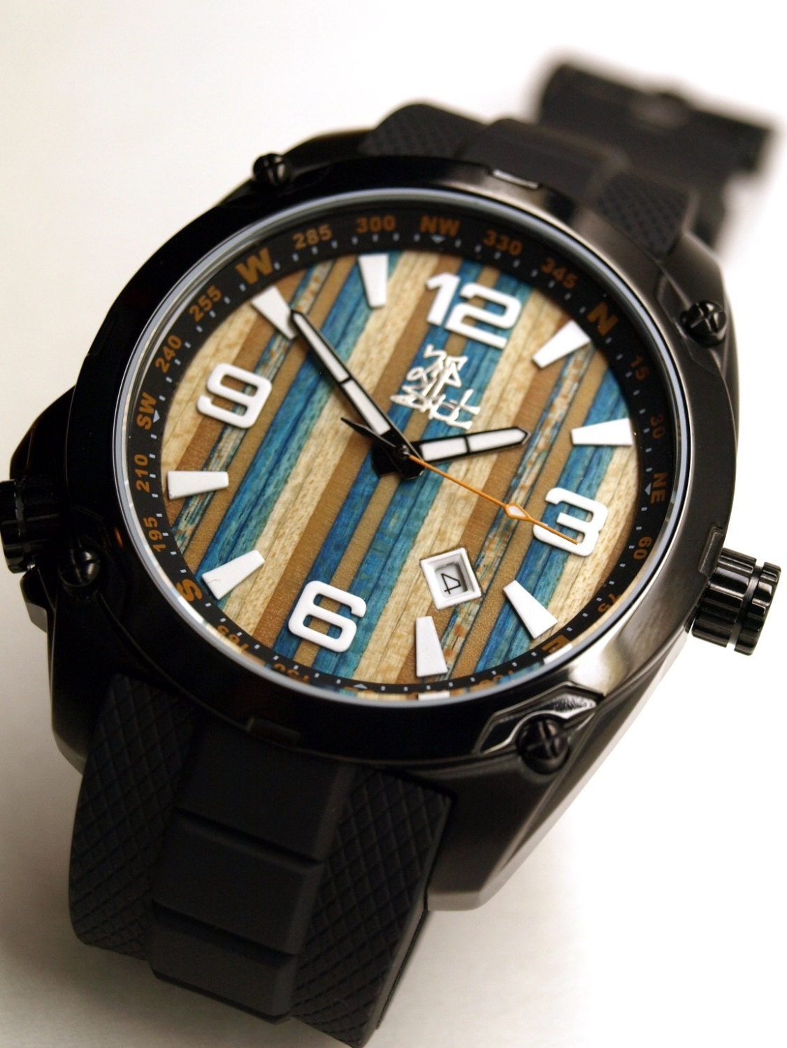 Recycled Skateboard Watch Second Shot Skate Watch by ...