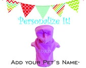 Custom Embroidery-Name Personalized Dog and Cat Apparel pet clothes