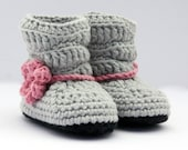 Baby Boots, Slouch Boots, Crochet Baby Booties, Made to Order