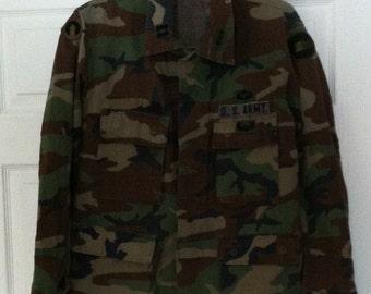 Camouflage- army jacket