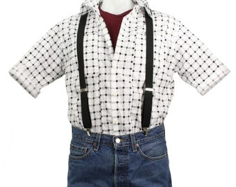 Marty McFly Costume Shirt