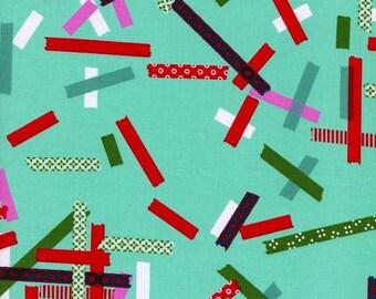 Cotton + Steel - Rashida Coleman Hale - Tinsel - Washi Teal