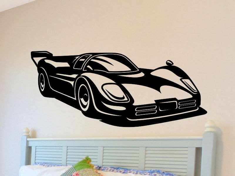 car wall stickers for nursery race car wall decal boys nursery decorations bedroom removable