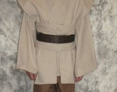 COMPLETE Child Jedi or Sith Robe Tunic Pants for Star Wars Costume