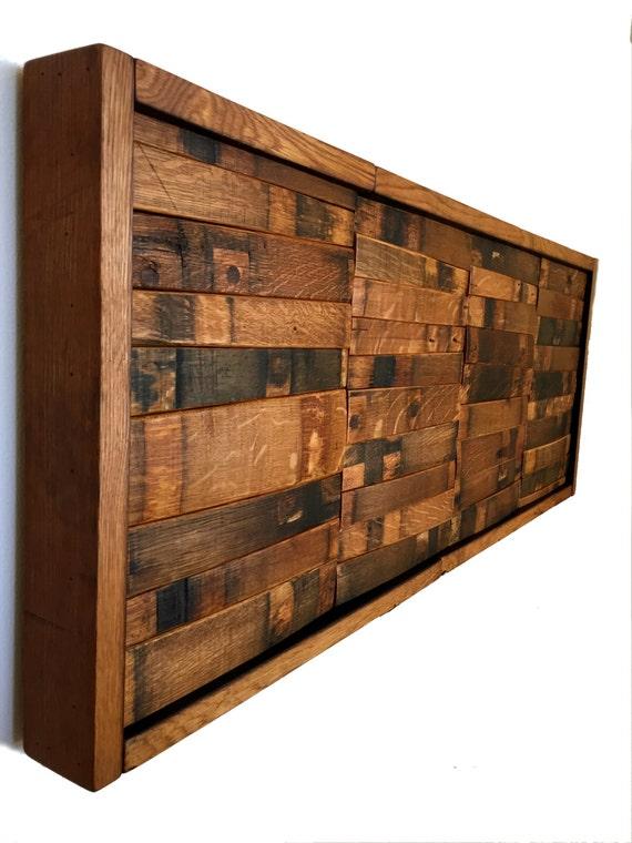 Wine Amp Bourbon Barrel Wall Art Home Decor Whiskey Mosaic